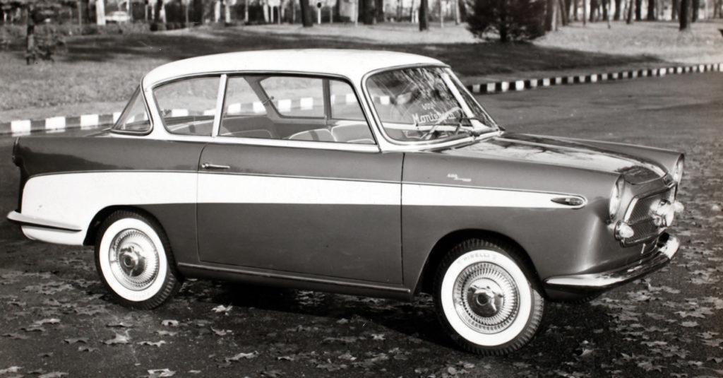 Fiat 600 Granluce Carrozzeria Monterosa (1958)