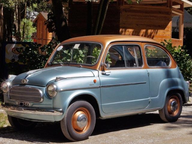 Fiat 600 Tipo N Monterosa (1956)