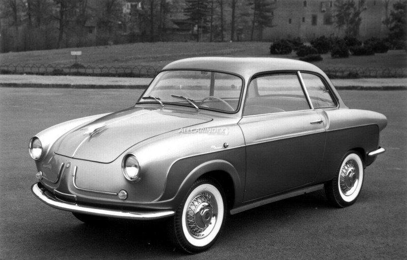 Fiat 600 Berlinetta Carrozzeria Monterosa (1956)