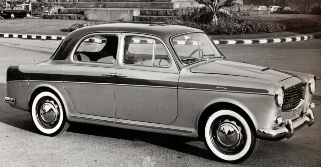 Lancia Appia Seconda Serie Carrozzeria Monterosa (1958)