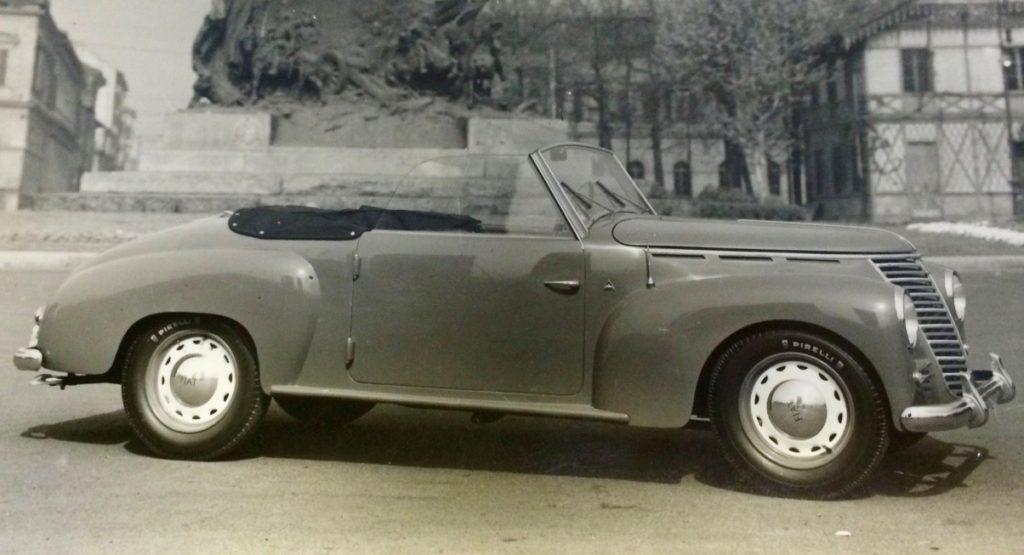 """Fiat 1100 E """"Stella Alpina"""" Spider, 1949"""