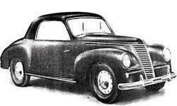 """Fiat 1100 E """"Stella Alpina"""" Coupè, 1949"""
