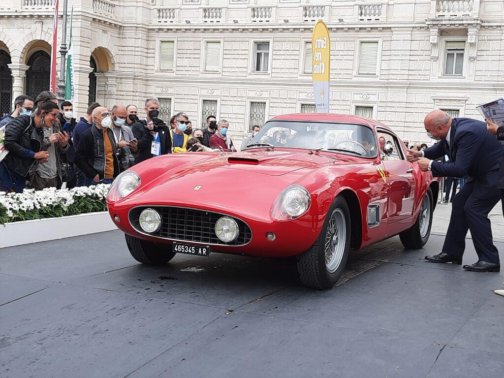 La Ferrari 250 Tour de France del 1957 vincitrice del premio attribuito dal pubblico